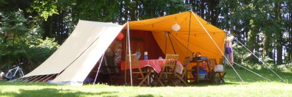 Camping De Waard.Compleet Ingerichte Tent Huren In Frankrijk